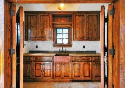 Edgewater Pool House Kitchen